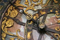 Astronomische Uhr mit Kaelndarium im Dom zu Münster (Marie Kappweiler) Tags: münster munster germany deutschland cathedral church église kirche clock heure uhr astonomy astonomie horologium 7dwf
