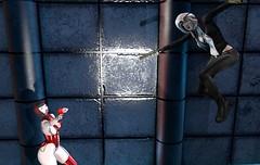 Replicant Hunter 5: Great Leap Forward (beccaprender) Tags: sf sciencefiction cyberpunk cyborg replicant replicanthunter