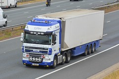 YD11 EEU (panmanstan) Tags: daf xf wagon truck lorry commercial freight transport haulage vehicle a1m fairburn yorkshire