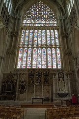 The Lady Chapel, York Minster (Hector Patrick) Tags: dng flickrelite lightroom614 northyorkshire pentaxdfa2470edsdmwr pentaxk1 york yorkminster buildings pentax minster church glass colorful colours stainedglass lady chapel