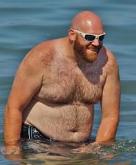 Beach Eye Candy (chumlee10) Tags: lakesuperior littlegirlspoint michigan beach sexy man pure swimming