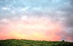 Low Sun on clouds (esywlkr) Tags: sunset nature clouds sky nc haywoodcounty northcarolina