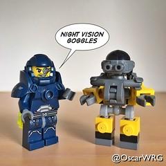 #LEGO_Galaxy_Patrol #LEGO #Armor #Suit #ArmorSuit #Night #Vision #Goggles #NightVision #NightVisionGoggles designed by Pascal (@OscarWRG) Tags: nightvisiongoggles legogalaxypatrol lego armor suit armorsuit night vision goggles nightvision