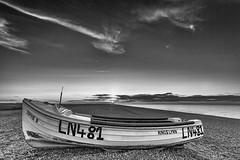 Sophie B (andybam1955) Tags: sunset landscape cleynextthesea clouds sophieb coastal cleybeach sky northnorfolk rural boats norfolk sea