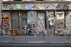Galerie Ligne 13 (HBA_JIJO) Tags: streetart urban graffiti pochoir kashink stencil paris art france hbajijo jefaerosol wall mur painting mesnager collage peinture cyklop dacruz artazoï artofpopof sticker urbanart gregos urbain intralarue sein artisteouvrier psy gzup janis