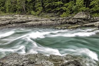 McDonald Falls, Glacier N. P.