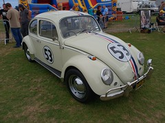 Famous Cars Of The Movies. Paignton Green. (christianiani) Tags: herbie movies lovebug beetle vw volkswagen famous films