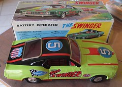 """""""The Swinger"""" (Zappadong) Tags: swinger ford mustang blech tin tintoy japan modelcar modell modellauto diecast zappadong model car toy spielzeugauto spielzeug"""