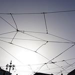 Lisboa: cables del tramvia / tram overhead lines thumbnail
