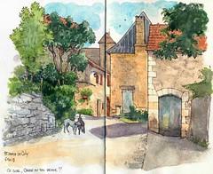 St Amand de Coly , (Cat Gout) Tags: saintamanddecoly périgord eu village rue