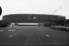 New Coliseum in Tokyo (hidesax) Tags: newcoliseum tokyo newnationalstadium 2020tokyo olympics mainstadium hidesax panasonic gx7mk3 leica dg 1260mm