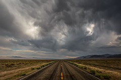 Central Nevada Storm (Jeffrey Sullivan) Tags: cathedralgorgestateparkpuppypanacapiochelincolncountyne clouds weather central nevada rachel nye county united states usa travel landscape nature night photography canon eos 6d dslr digital camera photo copyright july 2018 jeff sullivan photomatix hdr road trip