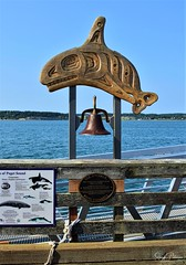 See a Whale, Ring the Bell - Historic Coupeville Wharf (SonjaPetersonPh♡tography) Tags: washington washingtonstate stateofwashington unitedstates usa nikon nikond5300 whidbeyisland portofcoupeville coupevillehistoricwaterfront nationalregisterofhistoricplaces oldbuildings historicbuildings townofcoupeville historicdistrict penncove ebeyslandingnationalhistoricreserve saratogapassage