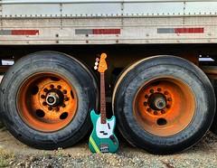 Big Wheels (Pennan_Brae) Tags: guitarphotography musicphotography fender fenderguitars fenderguitar mustangbass fenderbass bass bassguitarist electricbass electricguitar guitar bassguitar fendermustang