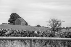 StandAlone (Tony Tooth) Tags: nikon d7100 nikkor 55300mm cottage house building isolated standalone countryside bw blackandwhite monochrome grindon staffs staffordshire