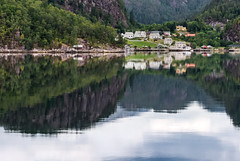 Fjord Reflection (Jon Stocks) Tags: landscape norway fjord reflection mountain lake view explore europe environment travel travelphotography tourism sky photography photo picoftheday photooftheday photoaday adventure d7100 dailyphoto green holiday light colour clouds nikon nikond7100 bergen