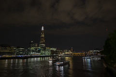 the dark site of London (wolf238) Tags: night london dark cityoflondon themse river mshamburg scherbe sharp