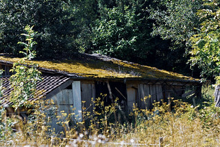 Old equipment shed
