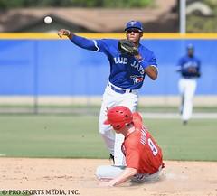 Leonardo Jimenez (Buck Davidson) Tags: leonardo jimenez buck davidson 2018 gulf coast league minor baseball gcl milb prospect toronto blue jays nikon d500 nikkor 300mm f28 sports