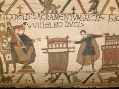 Bayeux Tapestry: 23 (DrBob317) Tags: france normandy bayeux bayeuxtapestry