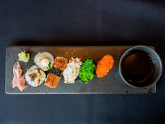 Seafood Sushi (John Grindle) Tags: em5markii foodphotography olympus instafood dorsetfood foodpic dorset omd foodie foodporn