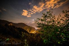 Nuit d'éclipse (yoann coppel) Tags: eclipse nuit night ciel sky stars étoiles lune moon mountains montagne montblanc french france photography landscape paysage nikon hautesavoie