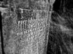 James and Emily Coombs (Daniel Karmy) Tags: cemetery black white bw heaven hell gosport hampshire photography water sea sun sand wind earth fire life death family pets father son daughter wife children people job jobs heart love living camera iphone