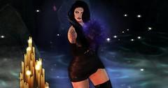 magic (JessicaNhah) Tags: witch aura darkness magic secondlife picmonkey goth gothic