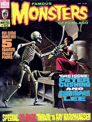 Famous Monsters #117 (1975) cover by Ken Kelly (gameraboy) Tags: vintage famousmonsters 117 1975 cover kenkelly 1970s sinbad rayharryhausen