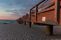 Die Sonne geht unter (Marcel Stumpp) Tags: sonnenuntergang sunset sonne meer ostsee wasser strand kühlungsborn wellen