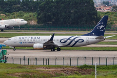 XIAMEN AIR B737-800(W) B-5302 SKYTEAM 001 (A.S. Kevin N.V.M.M. Chung) Tags: aviation aircraft aeroplane airport airlines plane spotting can boeing 737 b737 b737800wl