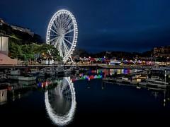 Riviera Reflections (Glenn Shepherd) Tags: reflections water sea torquay lights