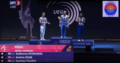 "Greece, Macedonia News, Lefteris Petrounias, the so called ""Lord of the Rings"", wins 4th consecutive gold medal in European Gymnastics Championship, Glasgow, Aug 2018 (Macedonia Travel & News) Tags: greecemacedonia makedonia macedoniatimeless macedonian macédoine mazedonien μακεδονια ancient greek culture vergina sun blog star thessaloniki hellenic republic prilep tetovo bitola kumanovo veles gostivar strumica stip struga negotino kavadarsi gevgelija skopje debar matka ohrid mavrovo heraclea lyncestis history alexander great philip macedon nato eu fifa uefa un fiba macedonianstar verginasun aegeansea macedoniapeople macedonians peopleofmacedonia macedonianpeople macedoniablog florina macedoniagreece timeless македонија macedonianews macedoniapress македонијамакедонскимакедонци 2ndplaceturkey 3rdplaceuk europeangymnasticschampionships glasgow tourisminmacedonia"
