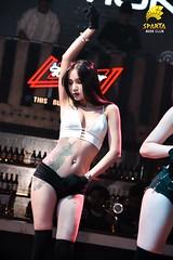 Dancer Bảo Nhung (spartabeerclub) Tags: tranganh dancer beer club sparta spartabeerclub hanoi vietnam sexy beautiful girl hot moments feeling lady onstage performance beatifulgirl bar