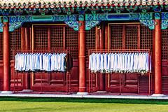 In Reih' und Glied (joern_ribu) Tags: beijing peking forbiddencity verbotenestadt color farben ordnung china uniform uniforms