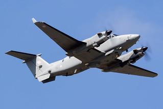 ZZ418 / Royal Air Force / Hawker Beechcraft 350CER Shadow R1