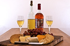 Wine and Cheese (jkotrub) Tags: 52in2018 food paring pair wine cheese mead fancy local eat eatlocal crackers cheeseandcrackers meal mazer homebrew foodie cheeseboard selection datenight