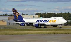 Atlas N475MC, OSL ENGM Gardermoen (Inger Bjørndal Foss) Tags: n475mc atlas cargo boeing 747 osl engm gardermoen