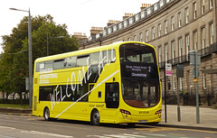 #EDINTFEST (SRB Photography Edinburgh) Tags: edintfest internationalfestival festival edinburgh lothian buses bus advert yellow road