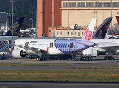 F-WZFU Airbus A350 China Airlines (@Eurospot) Tags: fwzfu airbus a350 a350900 toulouse blagnac chinaairlines b18918