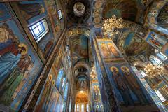 Church of the Savior on Spilled Blood, St. Petersburg, Russia (globetrekimages) Tags: stpetersburg saintpetersburg russia church cathedral interior building architecture санктпетербу́рг