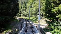 Rhaetian Railway - Langwieser Viaduct (Kecko) Tags: 2018 kecko swiss switzerland schweiz suisse svizzera graubünden graubuenden gr arosa railway railroad bahn eisenbahn rhb europe rhätischebahn viafierretica rhaetianrailway train zug arosabahn langwies brücke bridge viaduct viadukt swissvideo video geotagged geo:lat=46817560 geo:lon=9705090