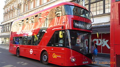 P1120139 VHP2 BV18 YAE at Clapham Junction Station St John's Road Clapham Junction London (LJ61 GXN (was LK60 HPJ)) Tags: goaheadlondoncentral volvob5lhybrid wrightbus newbusforlondon borismaster nbfl hybrid b5lhc vhp2 bv18yae an533 volvob5lhc 106m 10600mm