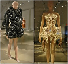 Capriole, Transforming Fashion, Designing the Impossible by Iris Van Herpen, Royal Ontario Museum, Toronto, ON (Snuffy) Tags: capriole transformingfashion designingtheimpossible irisvanherpen royalontariomuseum rom toronto ontario canada
