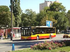 MAN NL293 Lion's City, #9303, PKS Grodzisk Mazowiecki (transport131) Tags: bus autobus ztm warszawa wtp pks grodzisk mazowiecki man nl293 lions city
