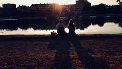 The Beginning Of A Beautiful Friendship (NFW) Tags: couple evening denmark summer friendship dawn copenhagen sortedam
