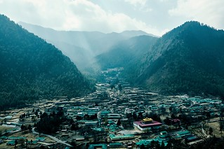Bhutan: The Barracks of Haa.