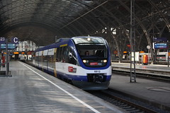 Mitteldeutsche Regiobahn: VT 0012 nach Wurzen in Leipzig Hbf (Helgoland01) Tags: mitteldeutscheregiobahn leipzig sachsen eisenbahn railway deutschland germany triebwagen talent bombardier br643