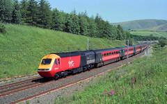 19970710 Scan1783 43063 - 43067 Beckfoot (Bill Atkinson2) Tags: virgin cross country beckfoot cumbria hst class 43