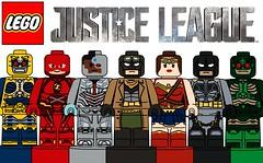 Custom Lego Justice League Microfigures !!! (afro_man_news) Tags: lego custom microfigures minifigures art dc justice league batman superman wonder woman aquaman cyborg steppenwolf flash mera all characters parademon micro figs new knightmare suit superheros